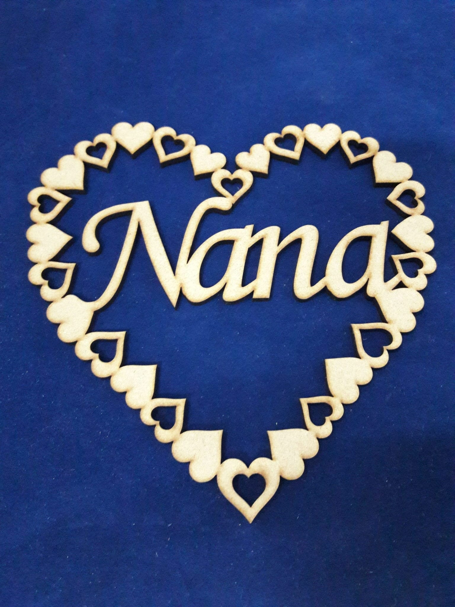 Mother/'s Day Free Standing 18mm MDF Mum Word Various Sizes Kid Craft Birthday