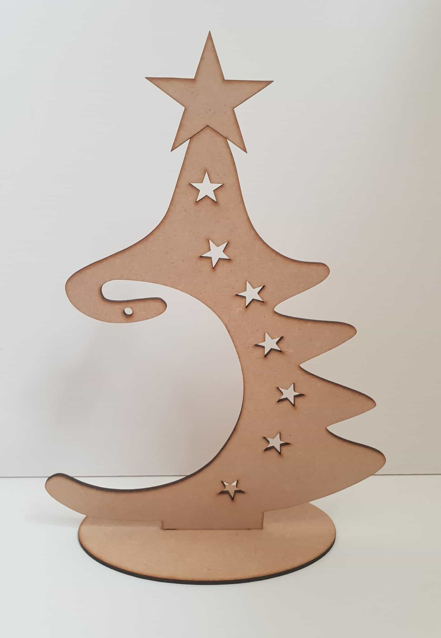 Details About Baubles Wooden Christmas Bauble Tree Hanger Free Standing Plaque Xmas Mdf S412